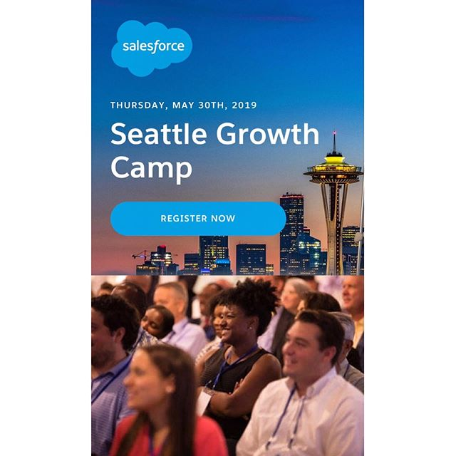 Join @salesforce and partners *today* for this FREE event for growing businesses at Block 41 in downtown Seattle. Whether your business has two people or 200, Growth Camp has the resources, networking, expert advice, and best practices you need to grow and scale your business. Stop by anytime between 1-6pm, and hear from C&S owner, Dani Cone at 2pm as she discusses her small business journey. Not to be missed! . . #shopconeandsteiner #seattle #capitolhill #pioneersquare #downtown #shoplocal #shopsmall #localvore #goodneighborsgoodfood #eventoftheday #eotd