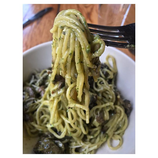 Lifting off into the weekend like our favorite pasta dish from @pioneersquarede. 🍝 Where's your favorite spot for food in #pioneersquare? Comment below! . . . #neighborlove #datenight #tgif #shopconeandsteiner #seattle #capitolhill #pioneersquare #downtown #shoplocal #shopsmall #localvore #goodneighborsgoodfood #productoftheday