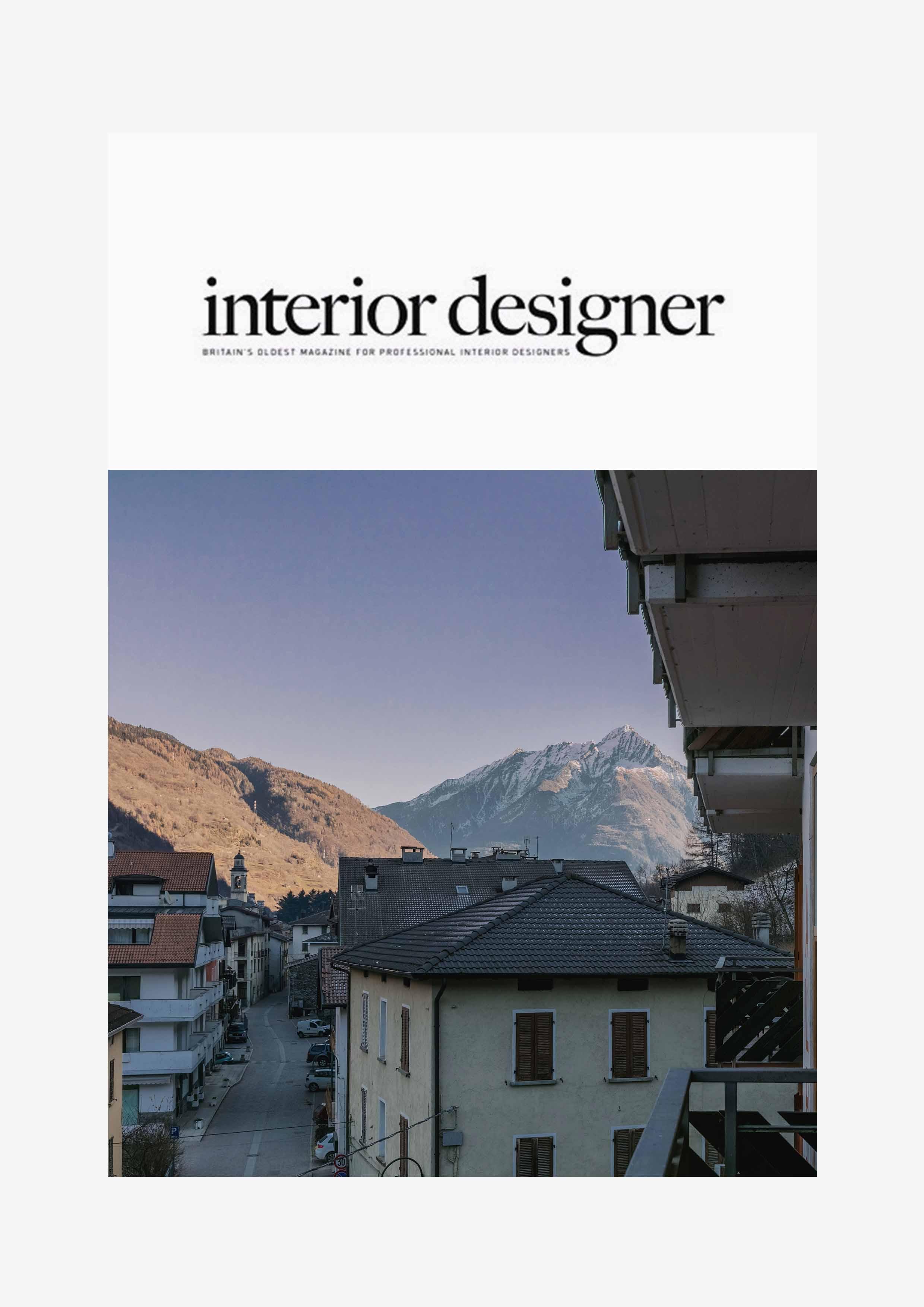 Interior Designer magazine Miramonti Boxx Creative