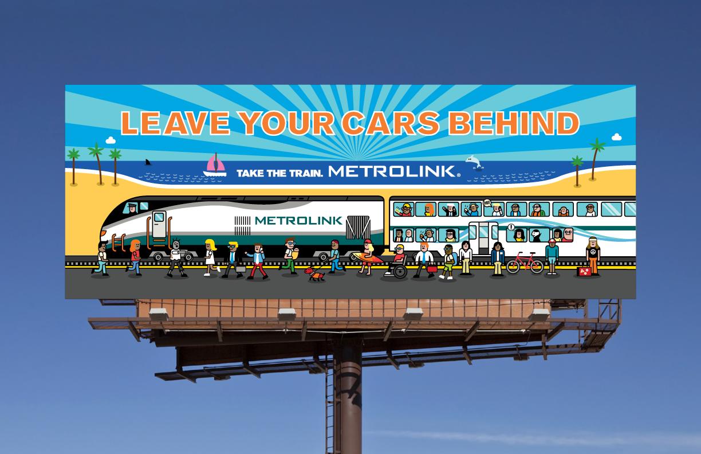 Leave Your Cars Behind Metrolink
