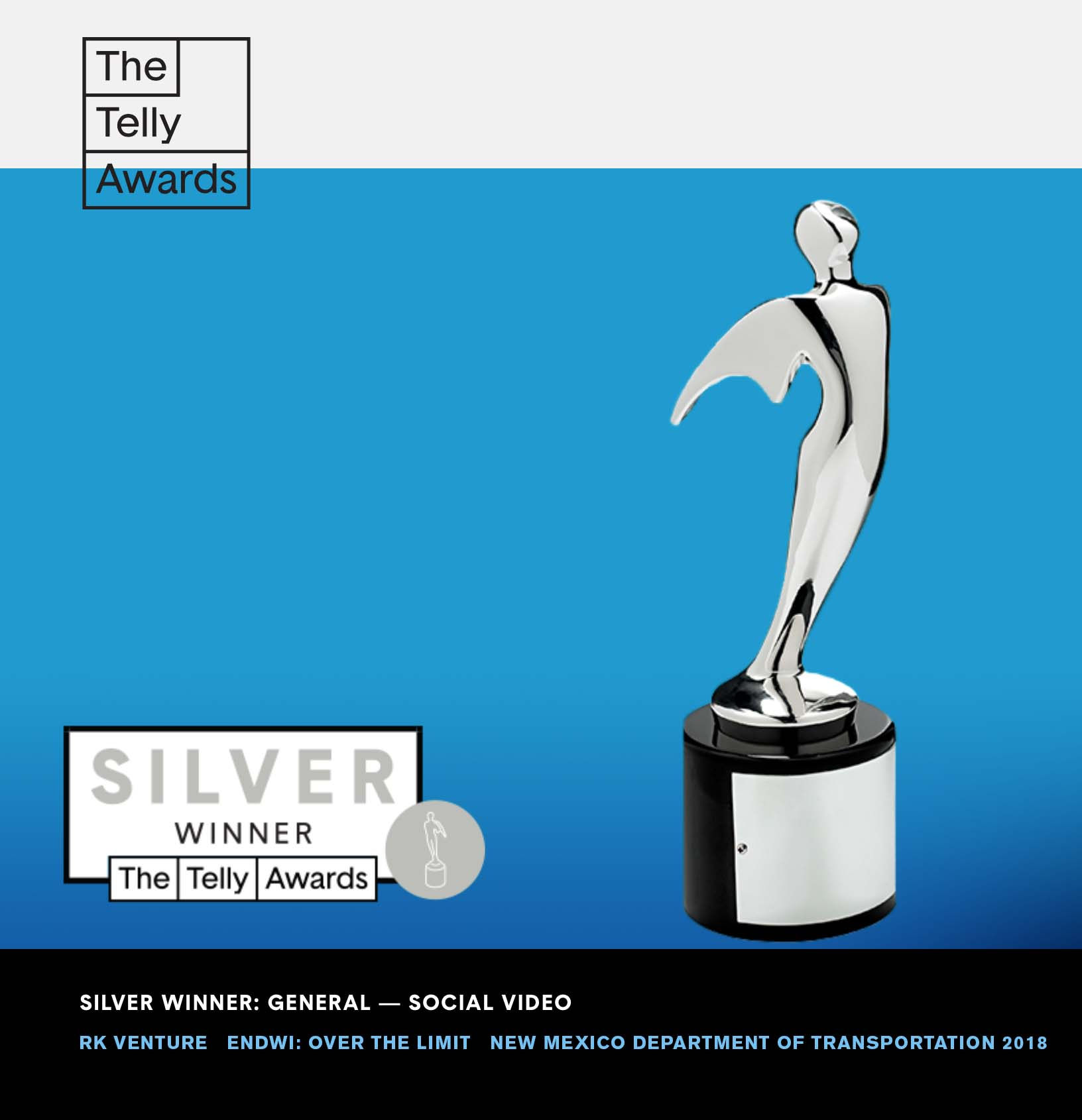 RK Venture Silver Telly