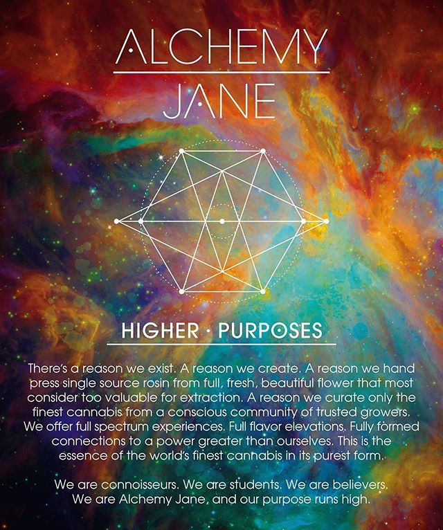 Brand manifesto for the good people at @alchemy.jane. Defining yourself and your purpose is a critical first step to promoting any brand. The unique story of Alchemy Jane comes to life in award-winning, mind-expanding creations, as well as our written words. . . Collaboration with @cannaversesolutions @chasethetrees @nativehumboldtfarms 🙏✌️ . . . . . . . . . . . #brandmanifesto #cannabisbranding #cannabismarketing #cannabiscopywriting #cannabiscommunity #tincture #rosin #alchemyjane #higherpurposes #emeraldcupwinner @theemeraldcup #weedporn #cannabisextract #humboldt #cannabisdesign #marijuana #norcalcannabis