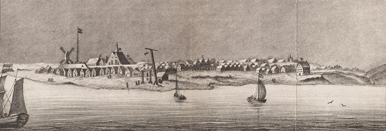 New Amsterdam, c. 1650