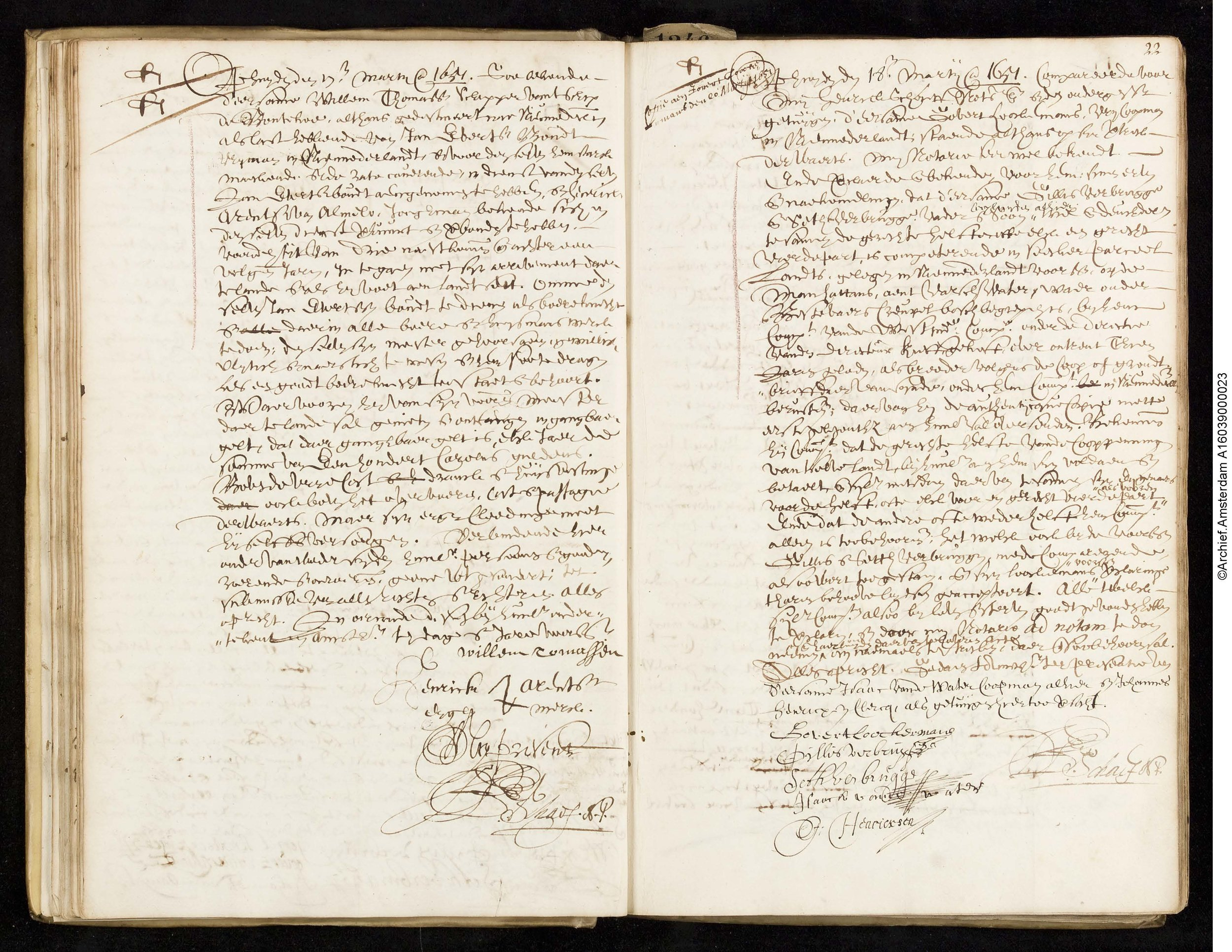 Deposition of Govert Loockermans (1651) - Read an English translation of the deposition Loockermans made regarding the sale of his land in Manhattan.