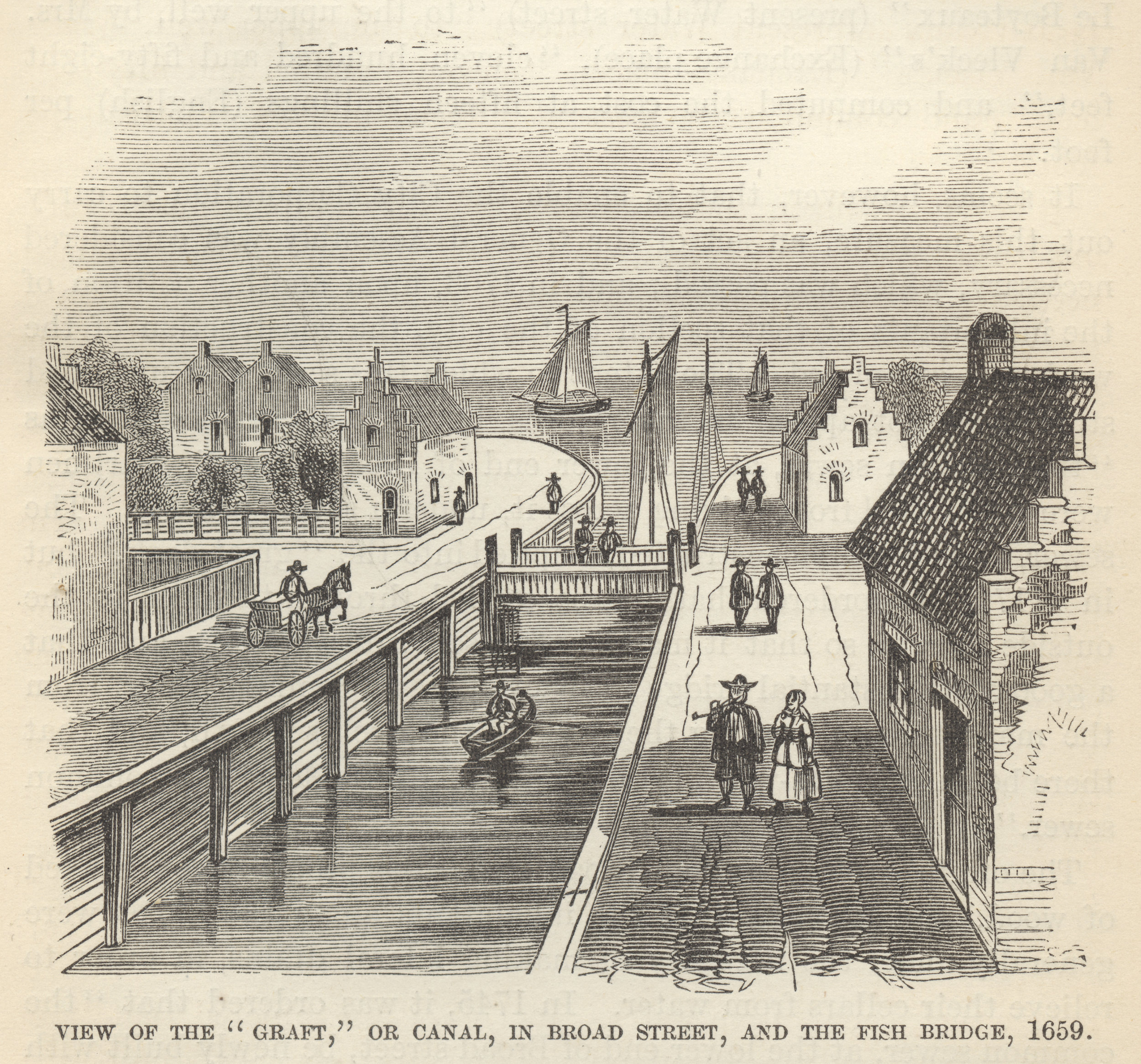 canal in New Amsterdam