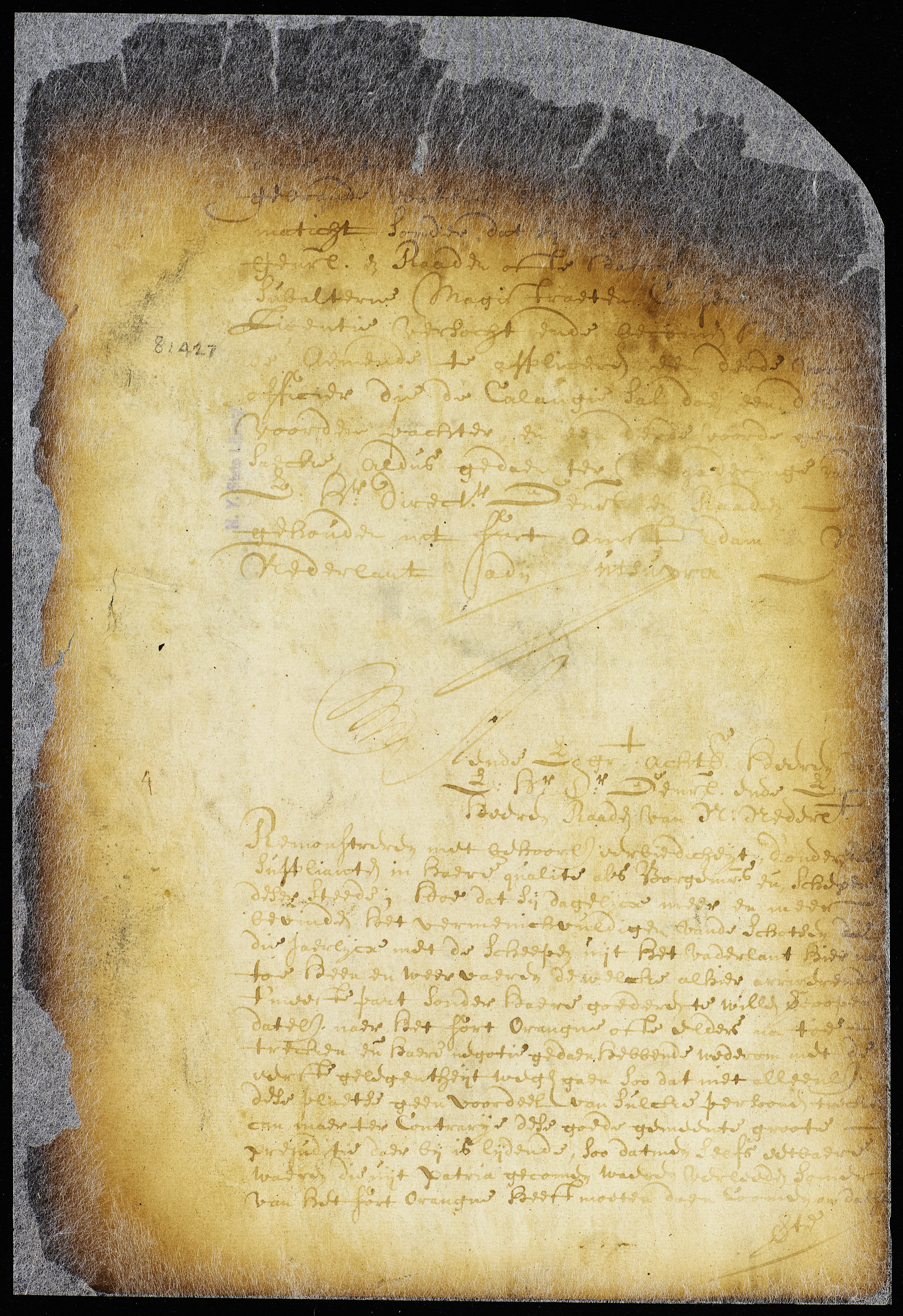 Petition Establishing the Burgher Rite, 1567