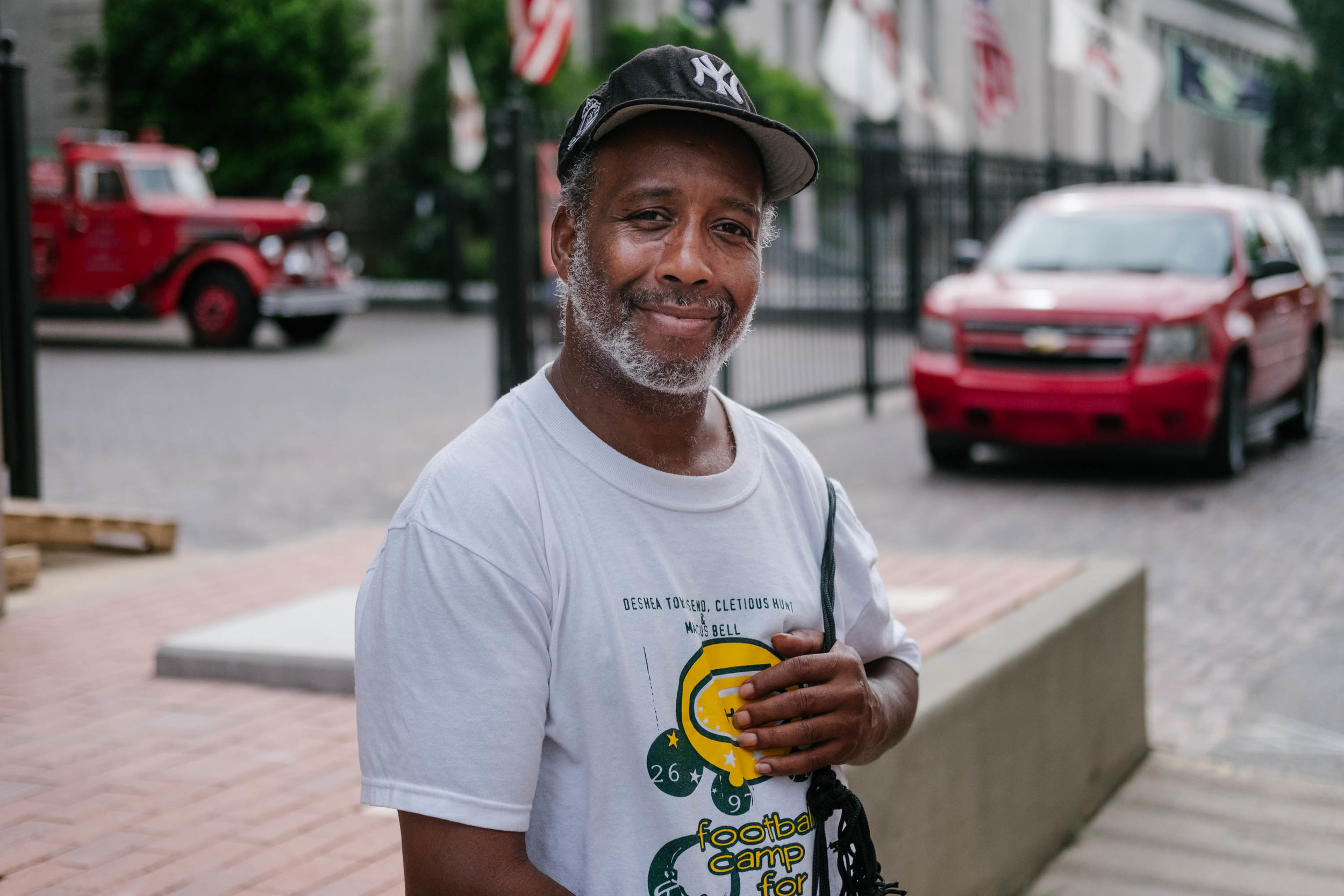 Patrick, a homeless man from NYC, June 19, 2018.