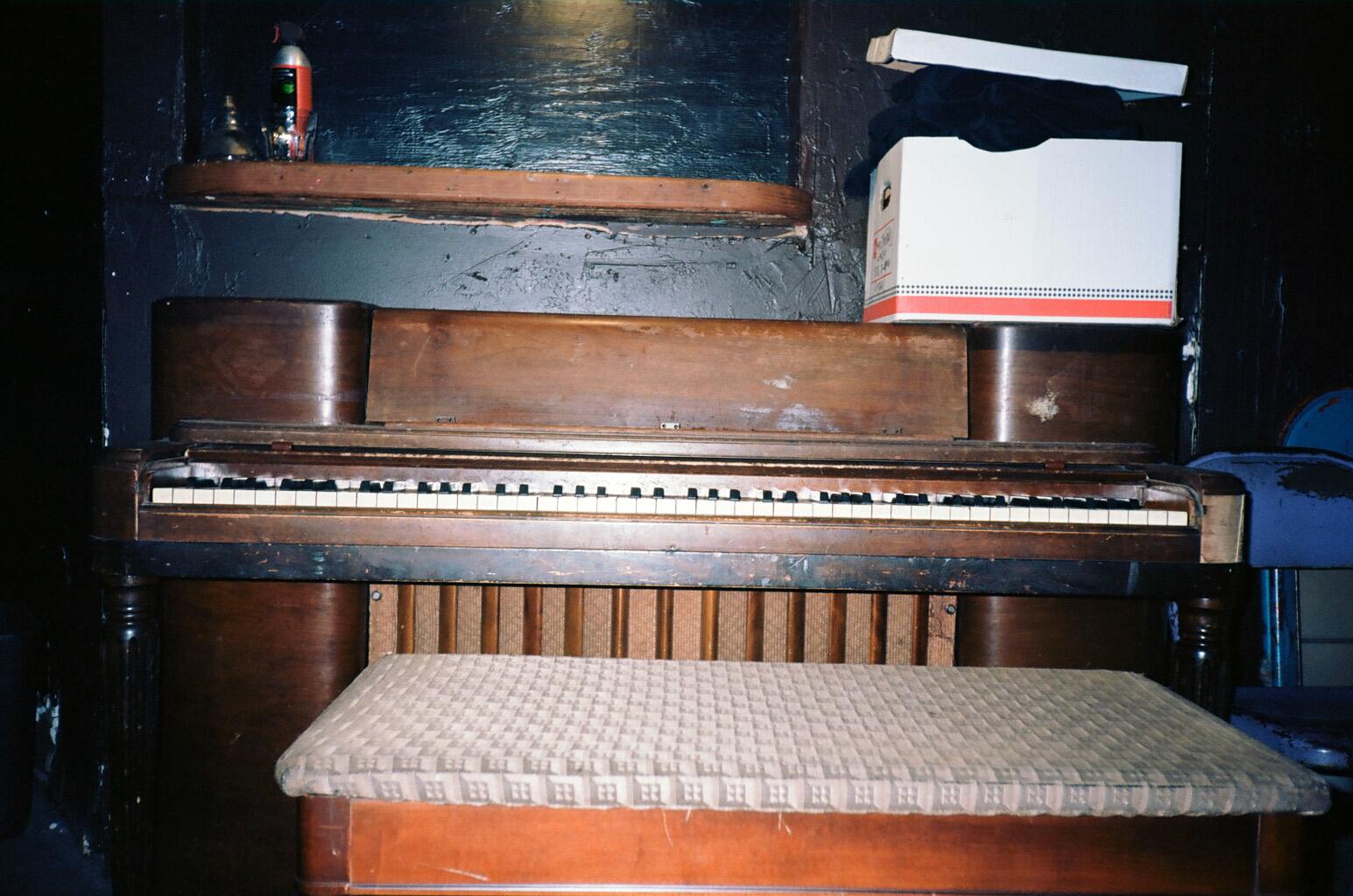 Basement Piano