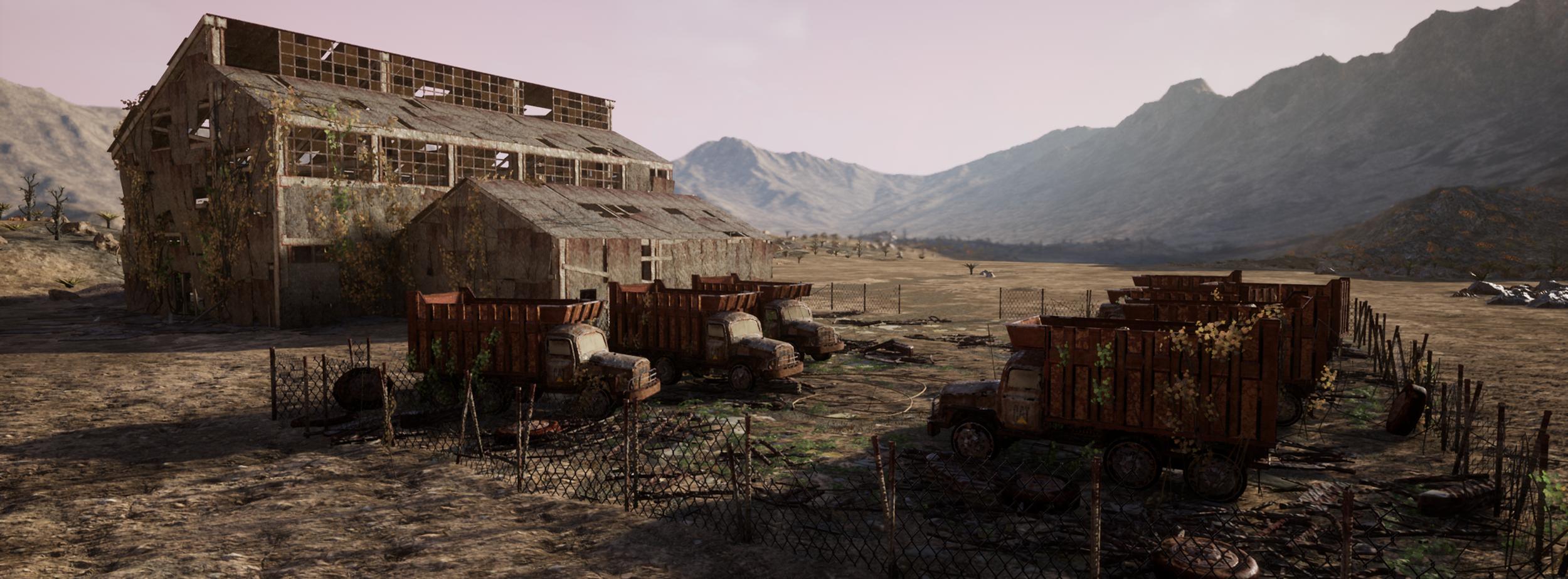 Desert warehouse -