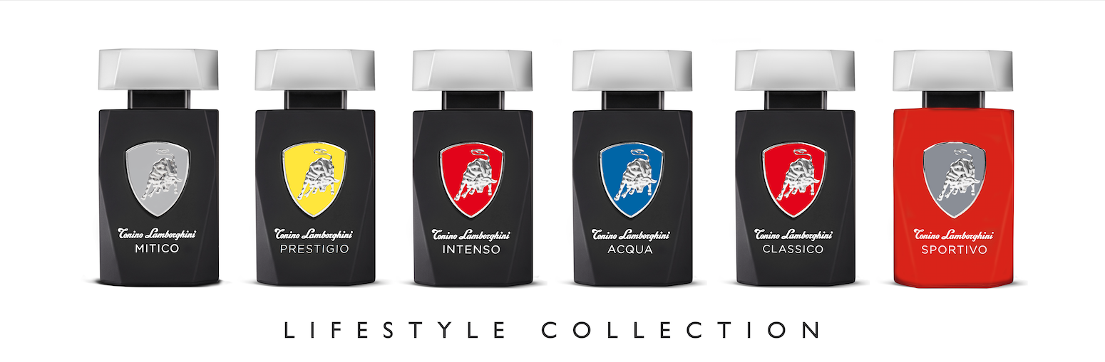 Tonino Lamborghini Lifestyle collection of men's fragrances ACQUA, CLASSICO, INTENSO, MITICO, PRESTIGIO and SPORTIVO is an extension of the brand. This fragrance collection captures a wide range of scent offering for the modern man, covering all the lifestyle needs for every particular occasion.  DISCOVER THE COLLECTION