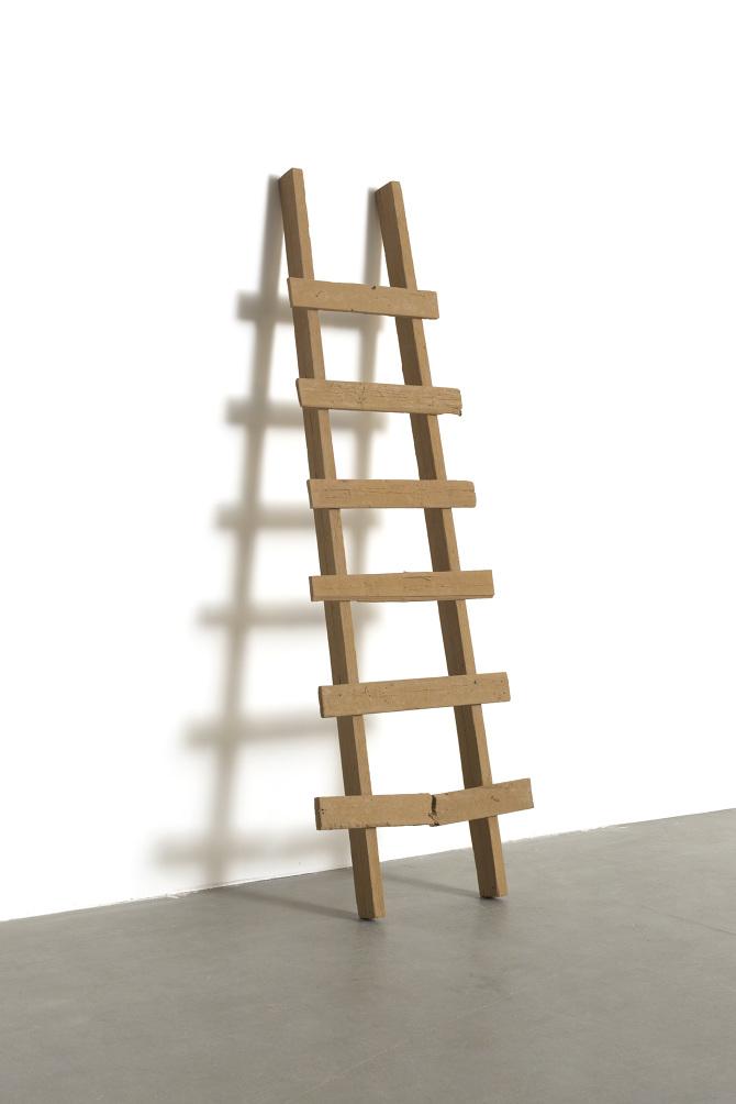The Ladder  by Haimi Fenichel, cast sand. Photo by Yuval Hai, 2010, courtesy of the artist.
