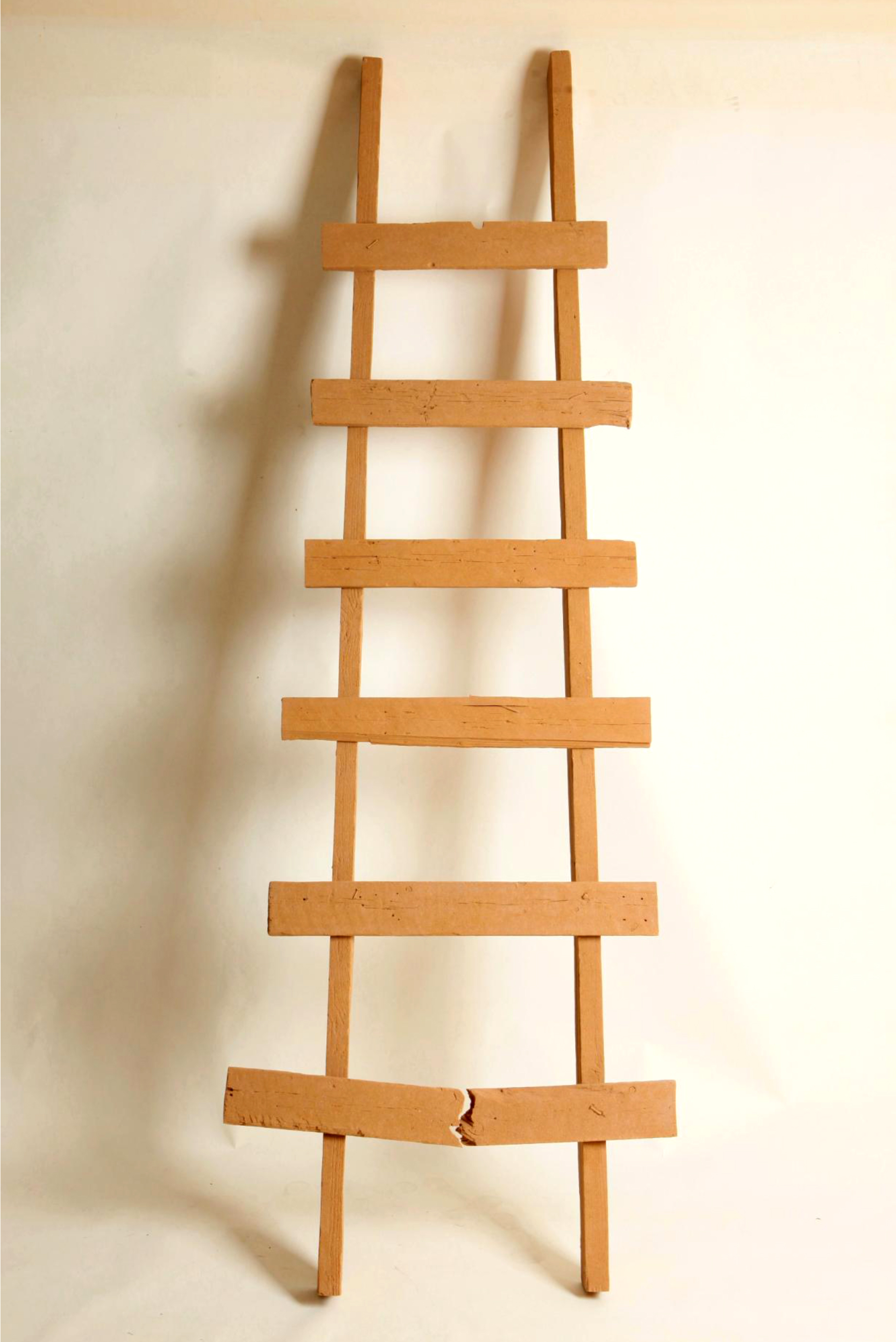 The Ladder  by Haimi Fenichel, cast sand. Photo by Elad Sarig, 2010, courtesy of the artist.