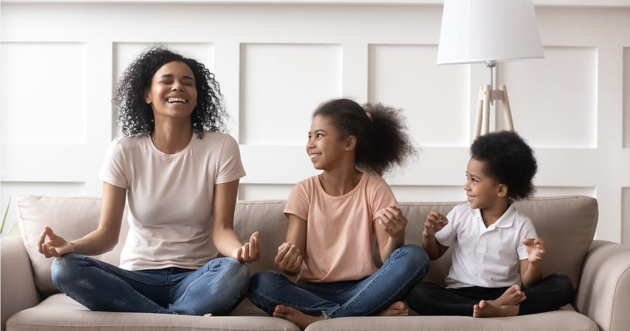 Mindfulness, Meditation & Parenting: 5 Mindful Mantras for Moms & Dads - Read my Five Favorite Mindful Parenting Mantras to help you be a more calm and joyful parent, featured in www.30seconds.com