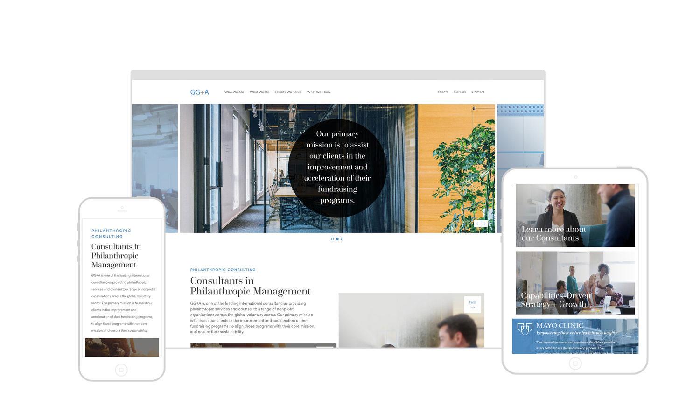 Web Design | GG+A - Responsive Design