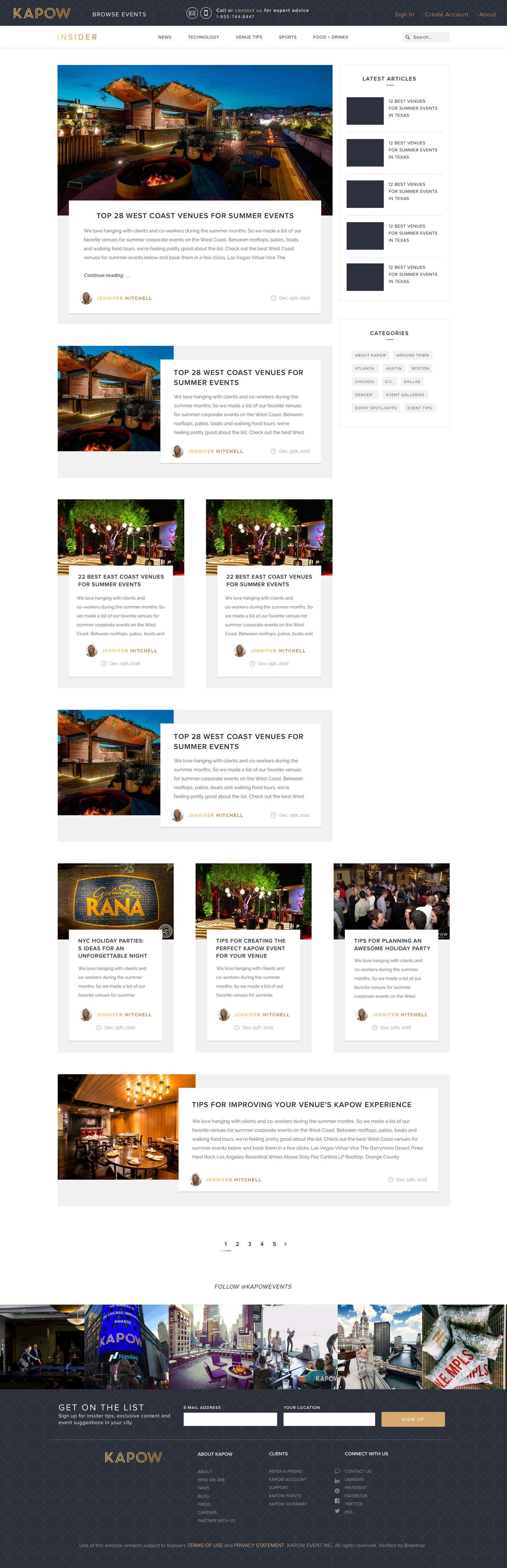 Web Design | Kapow Blog