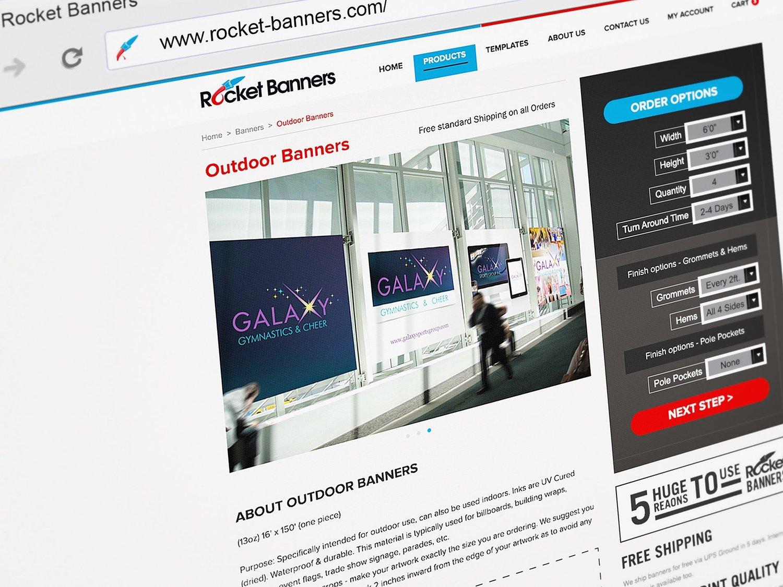 Web Design | Rocket Banners