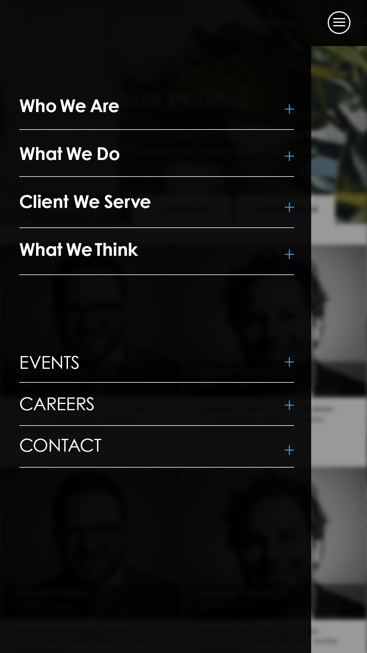 Web Design | Mobile Menu