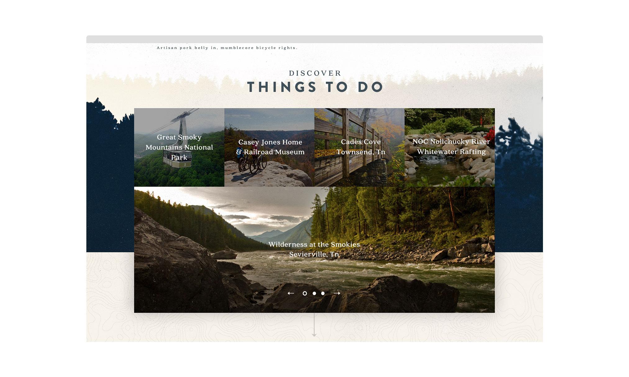 Web Design | Elk Springs Resort - Things To Do