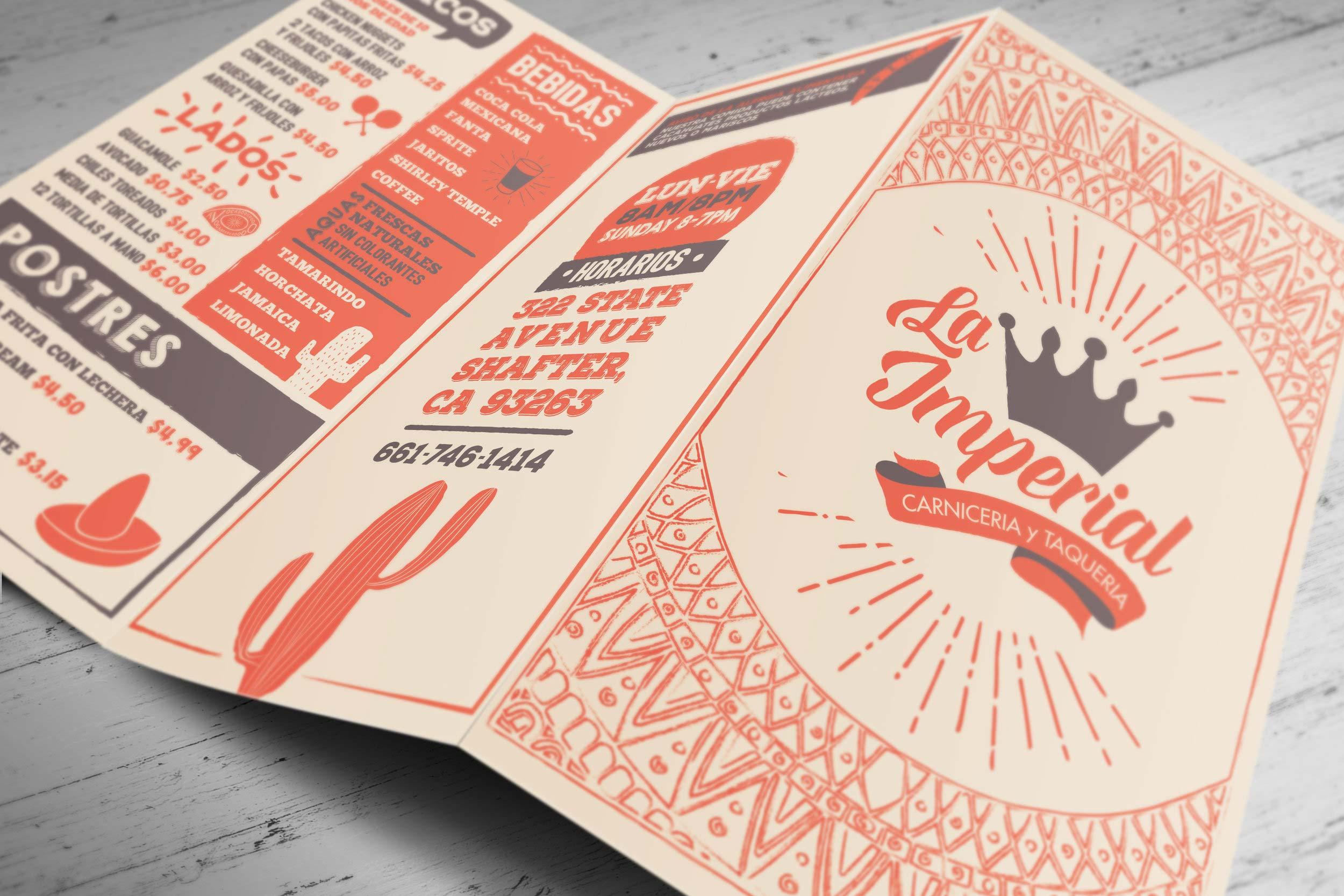 Print Design | La Imperial Brochure
