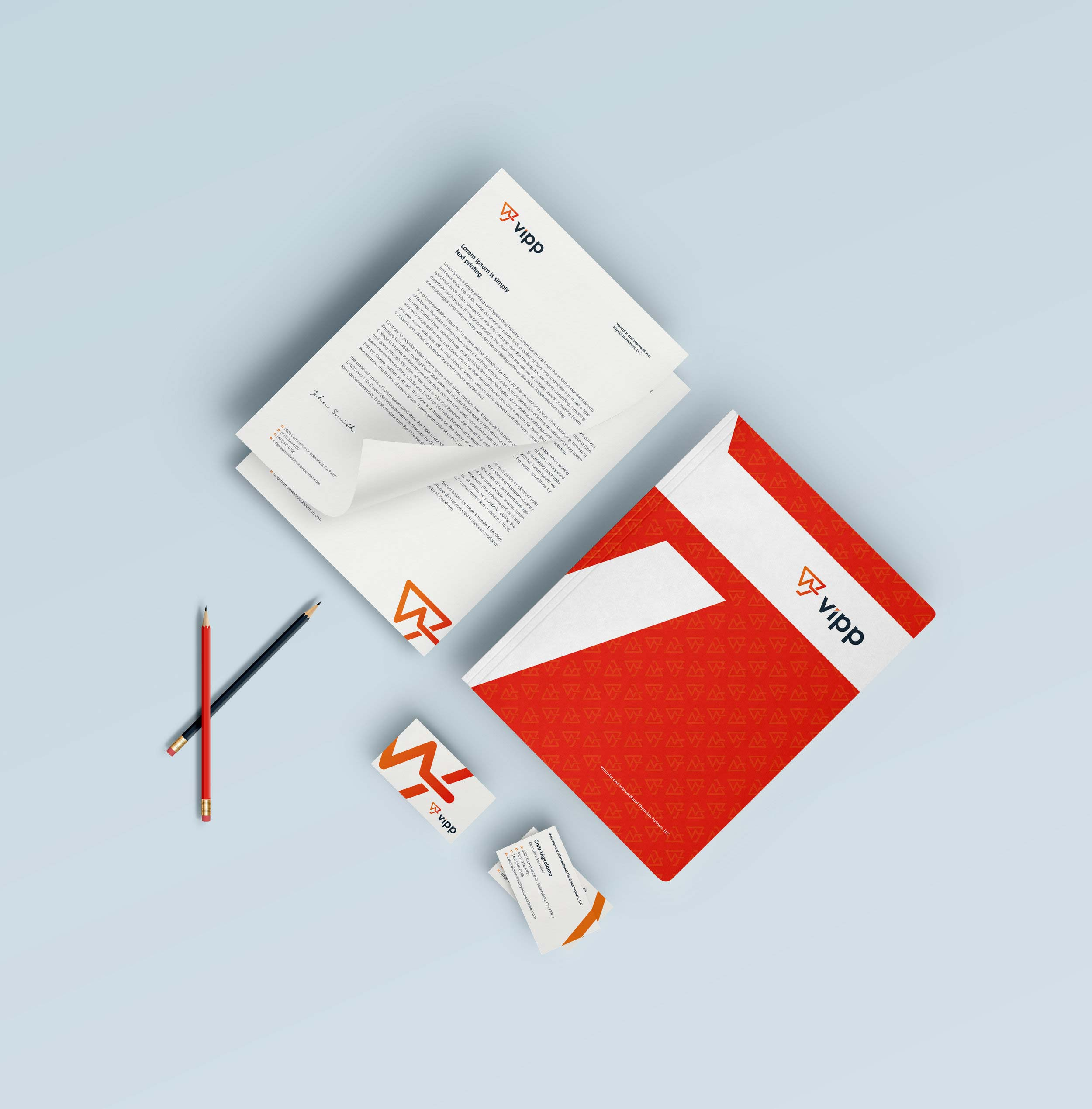 Print Design | vipp Stationery + Business Cards