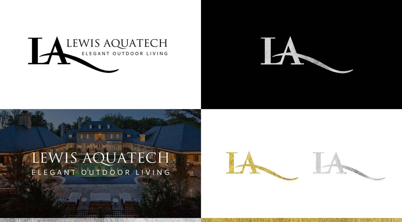 Logo + Branding   Lewis Aquatech - Designs