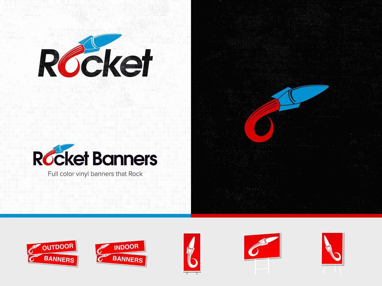Logo + Banner   Rocket Banners