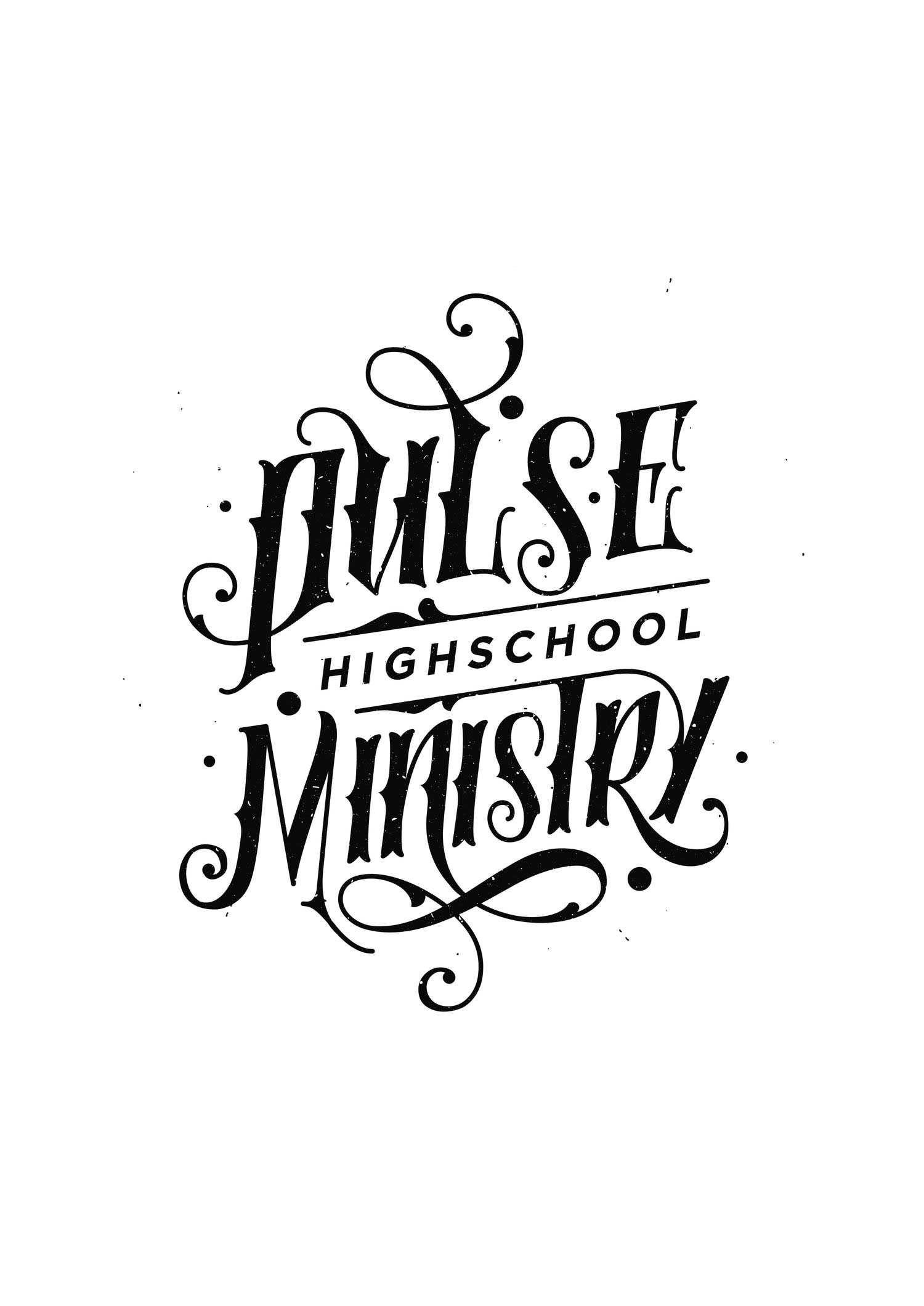 Logo + Branding   Pulse High School Ministry
