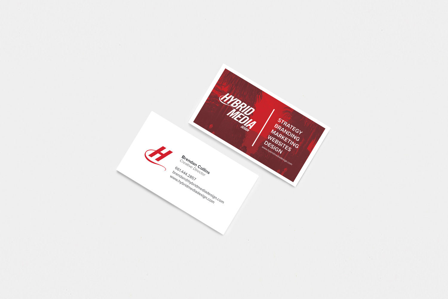 Print Design | Hybrid Media - Business Cards