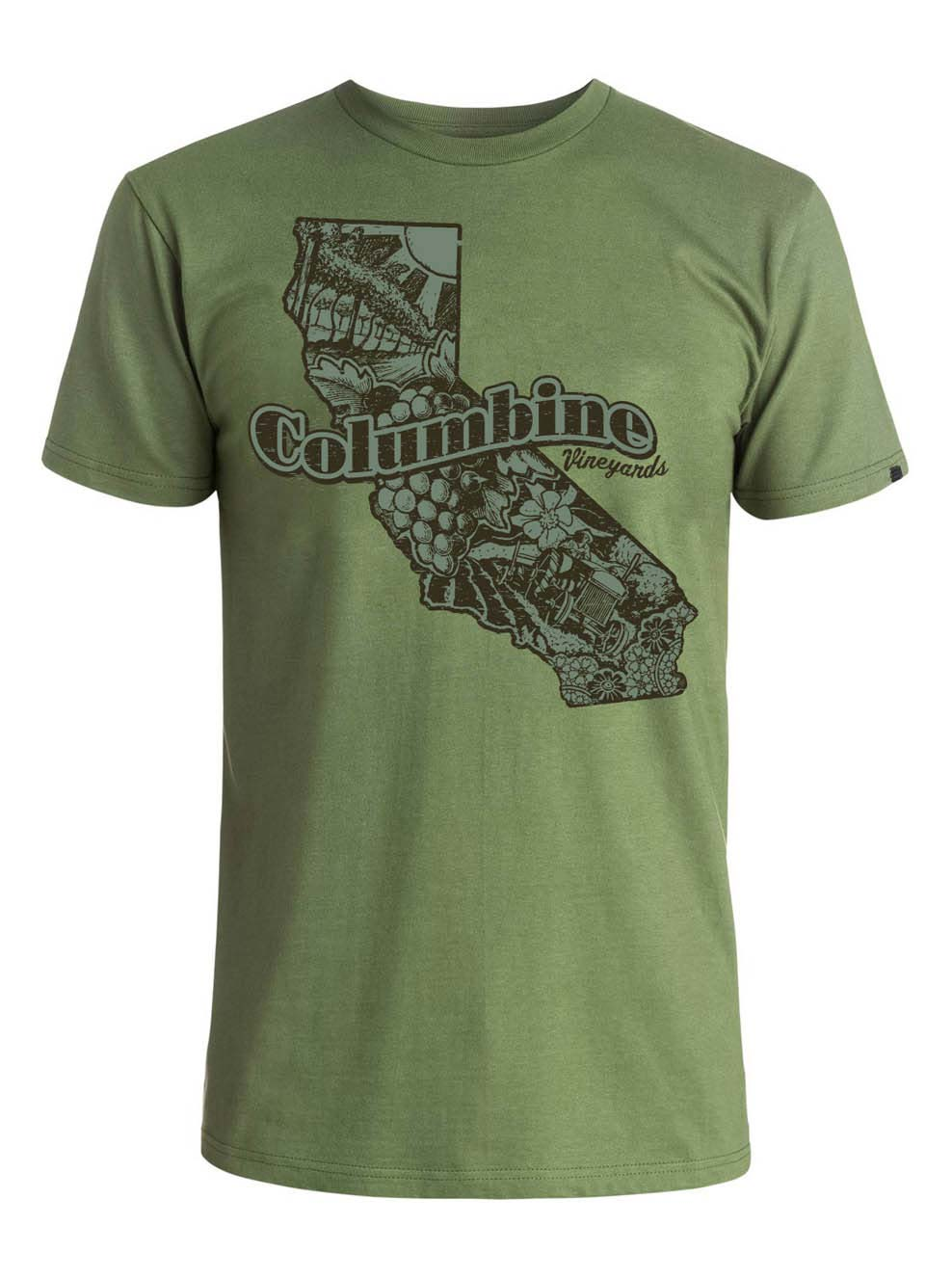 Apparel Design | Columbine Vineyard T-Shirt