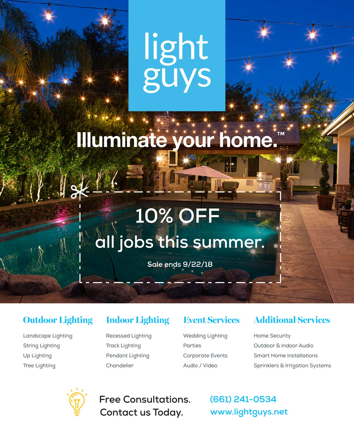 Light Guys - Magazine Ad