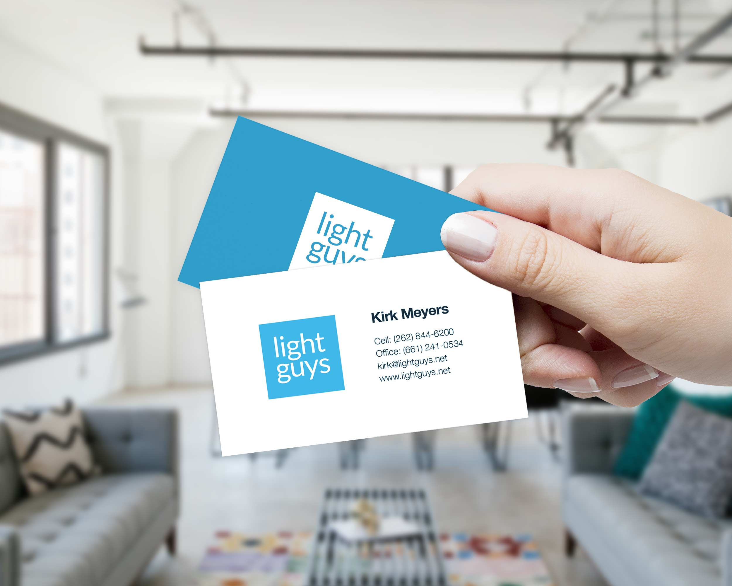 Light Guys - Business Card
