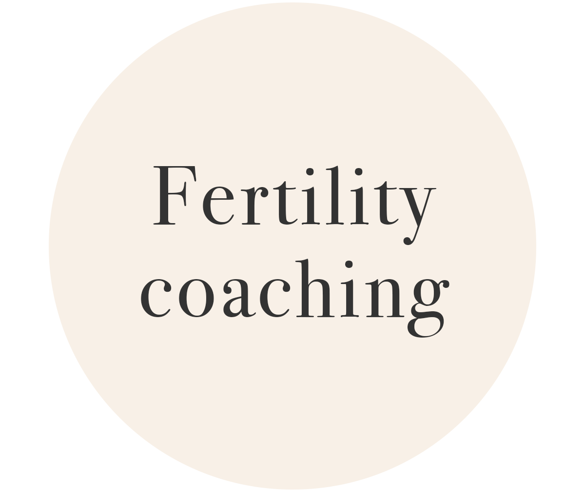 Fertility Coaching Information