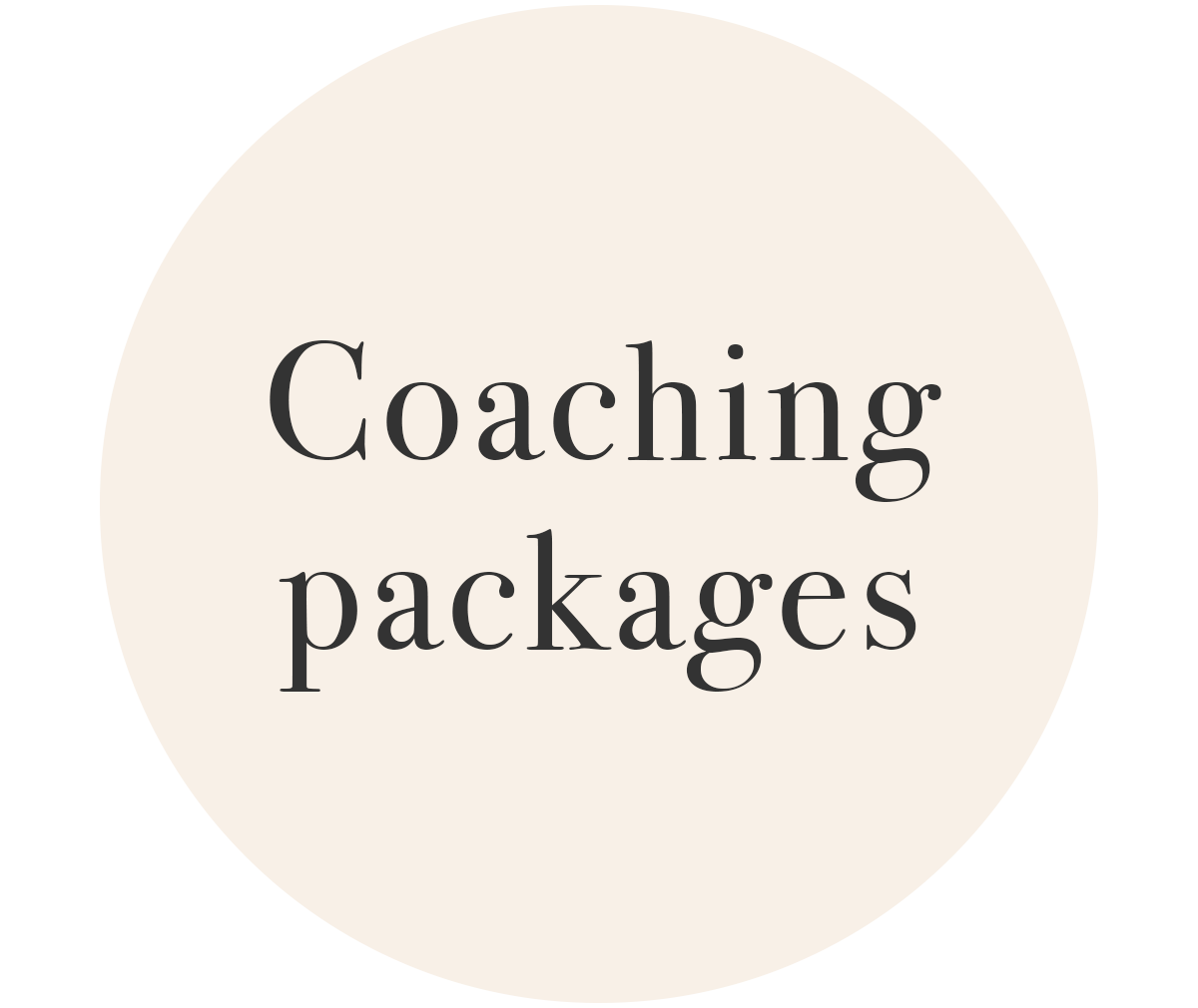 Coaching Packages with Claire Hall