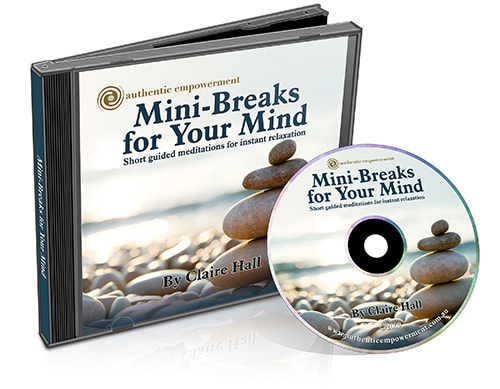 Meditation CD by Claire Hall
