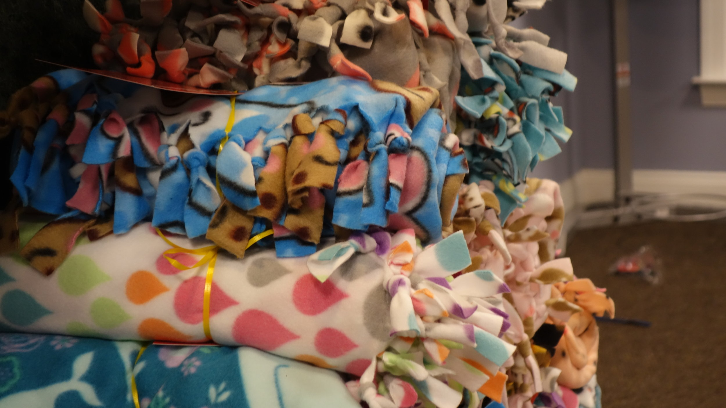 206 Blankets - Made and given to Heart Families