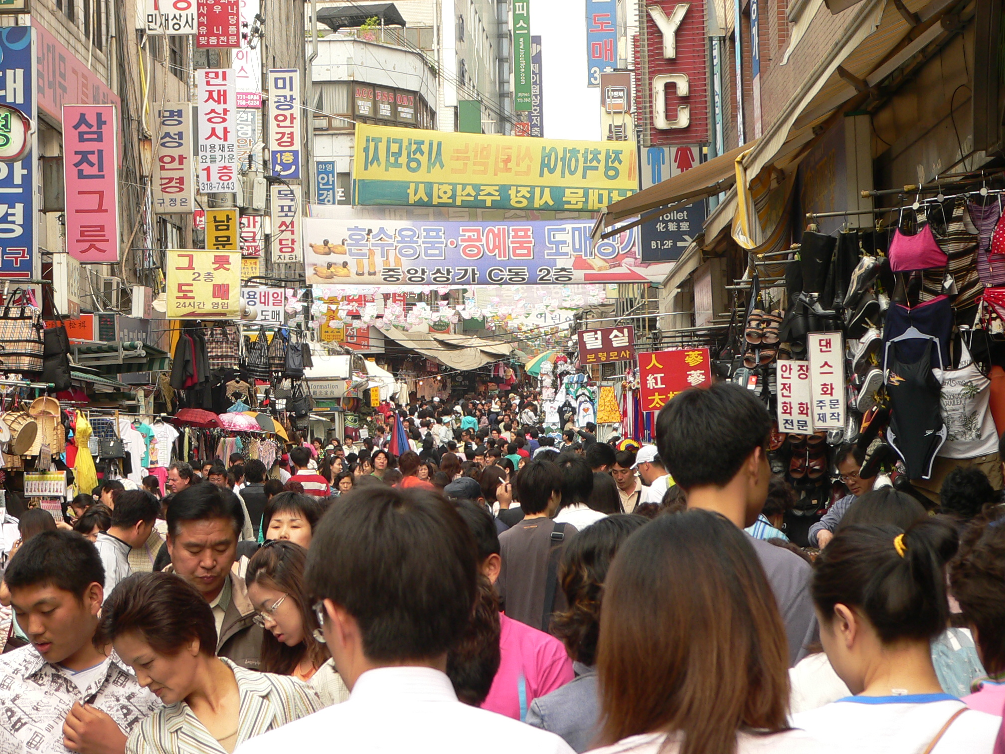 Crowded scenes like this market in Seoul are going to become the norm for cities worldwide. Photo Credit:  Crowded by  Craig Nagy, via Flickr,  CC BY-SA 2.0