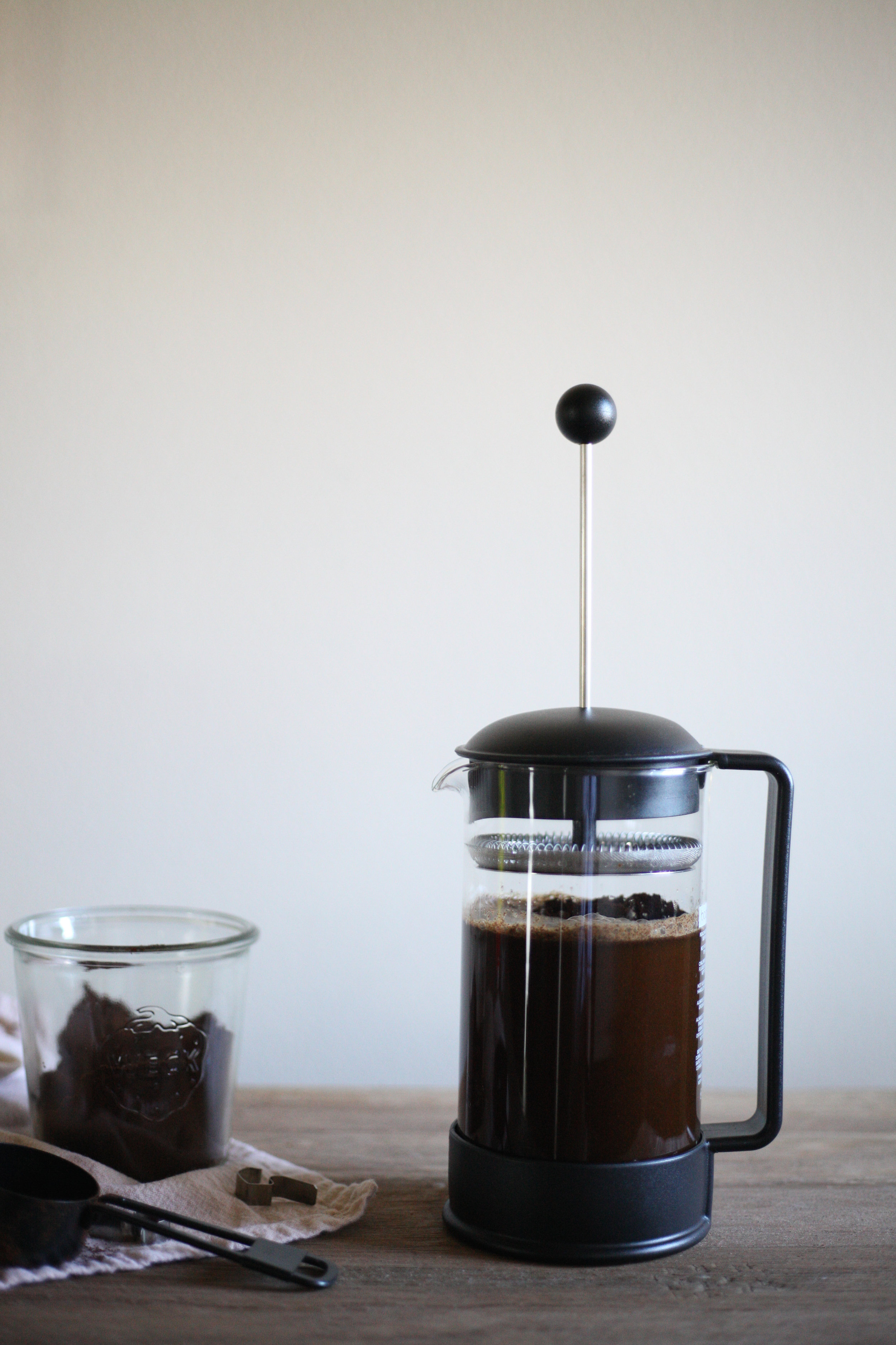 French Press Cold Brew - easier done than said.