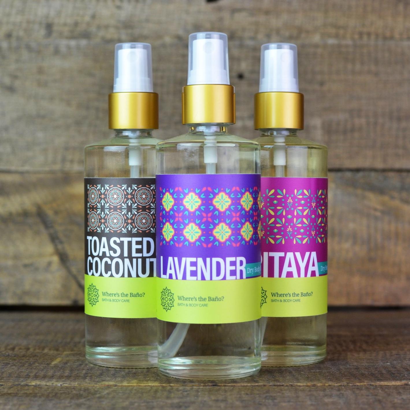 Dry Body Oils -