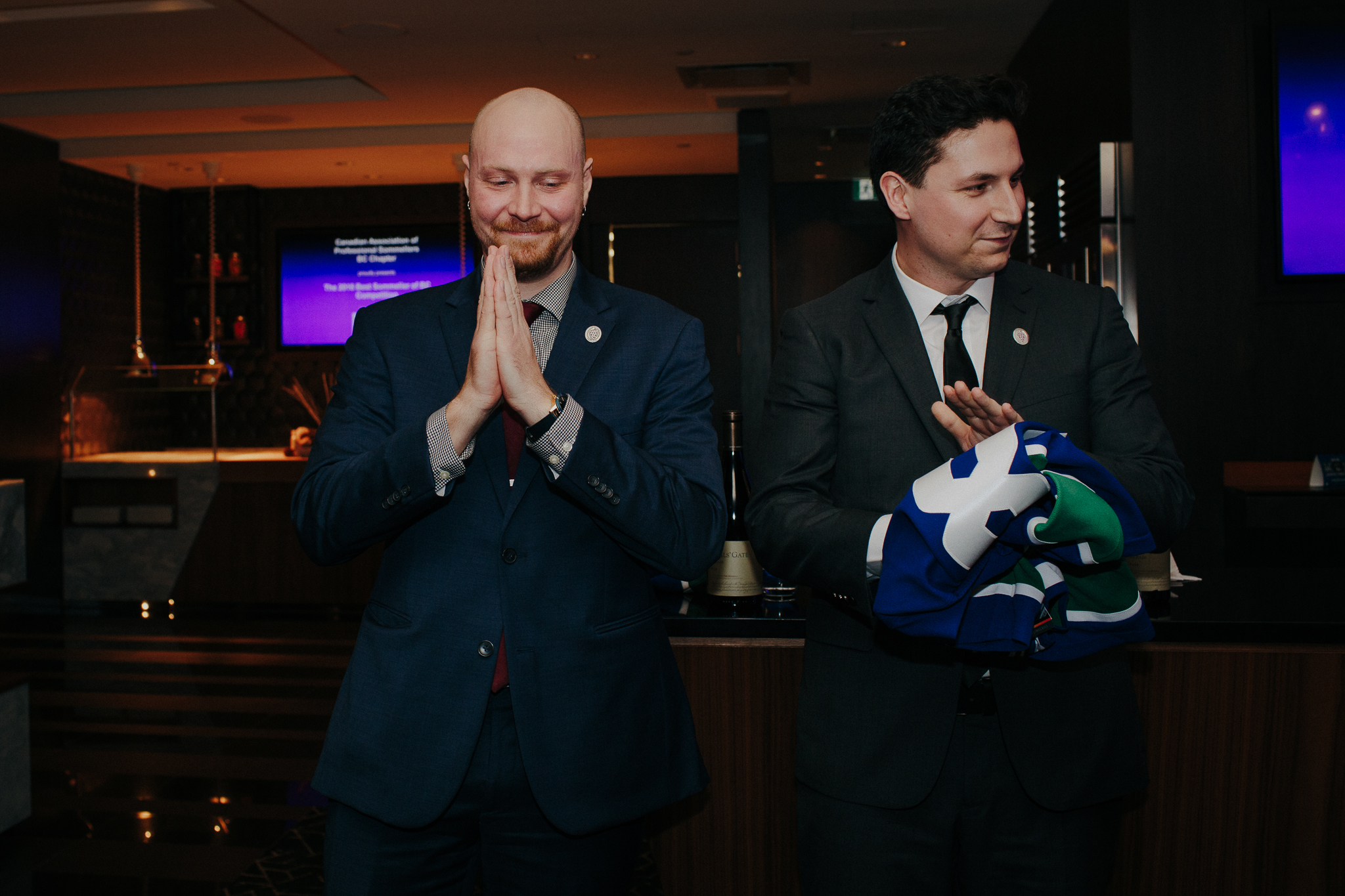 Sean Nelson of Vij's crowned   Best Sommelier of BC 2018.