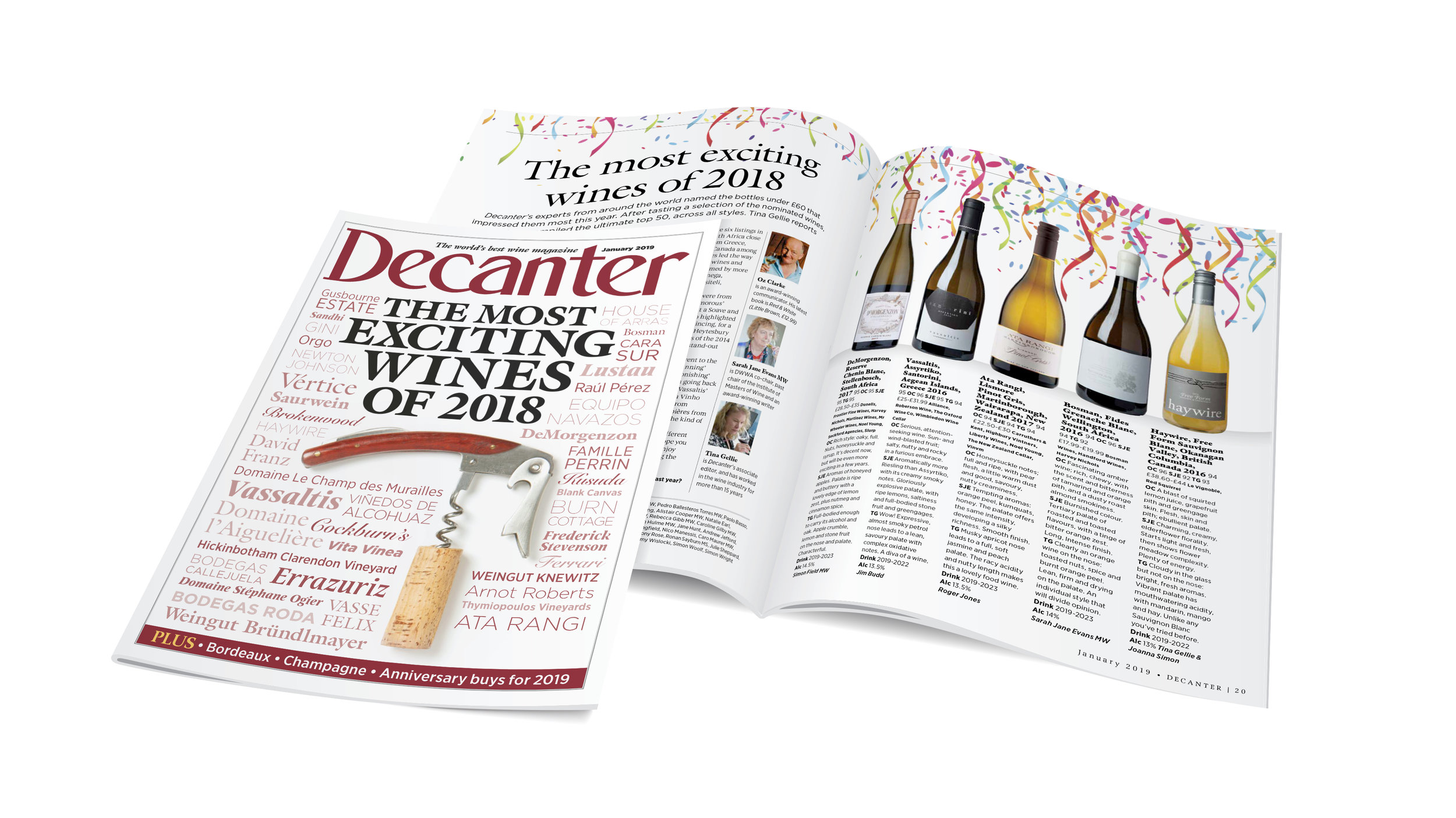 This is the fist time a Canadian winery has made Decanter's Top 10