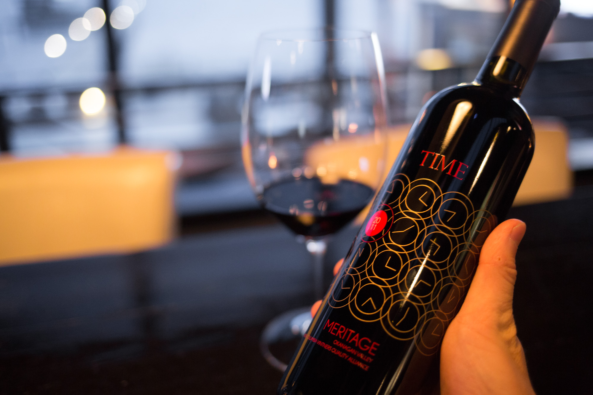 TIME Winery is known for its Meritage: Chris Stenberg photo
