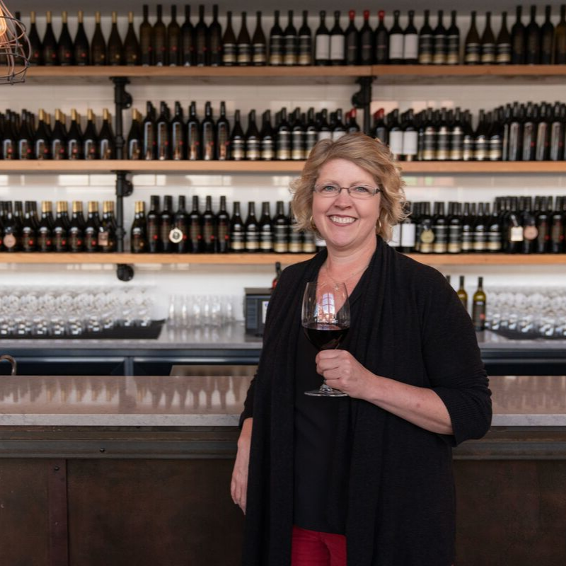 Christa-Lee McWatters, CEO of Evolve Cellars, TIME Winery and McWatters Collection