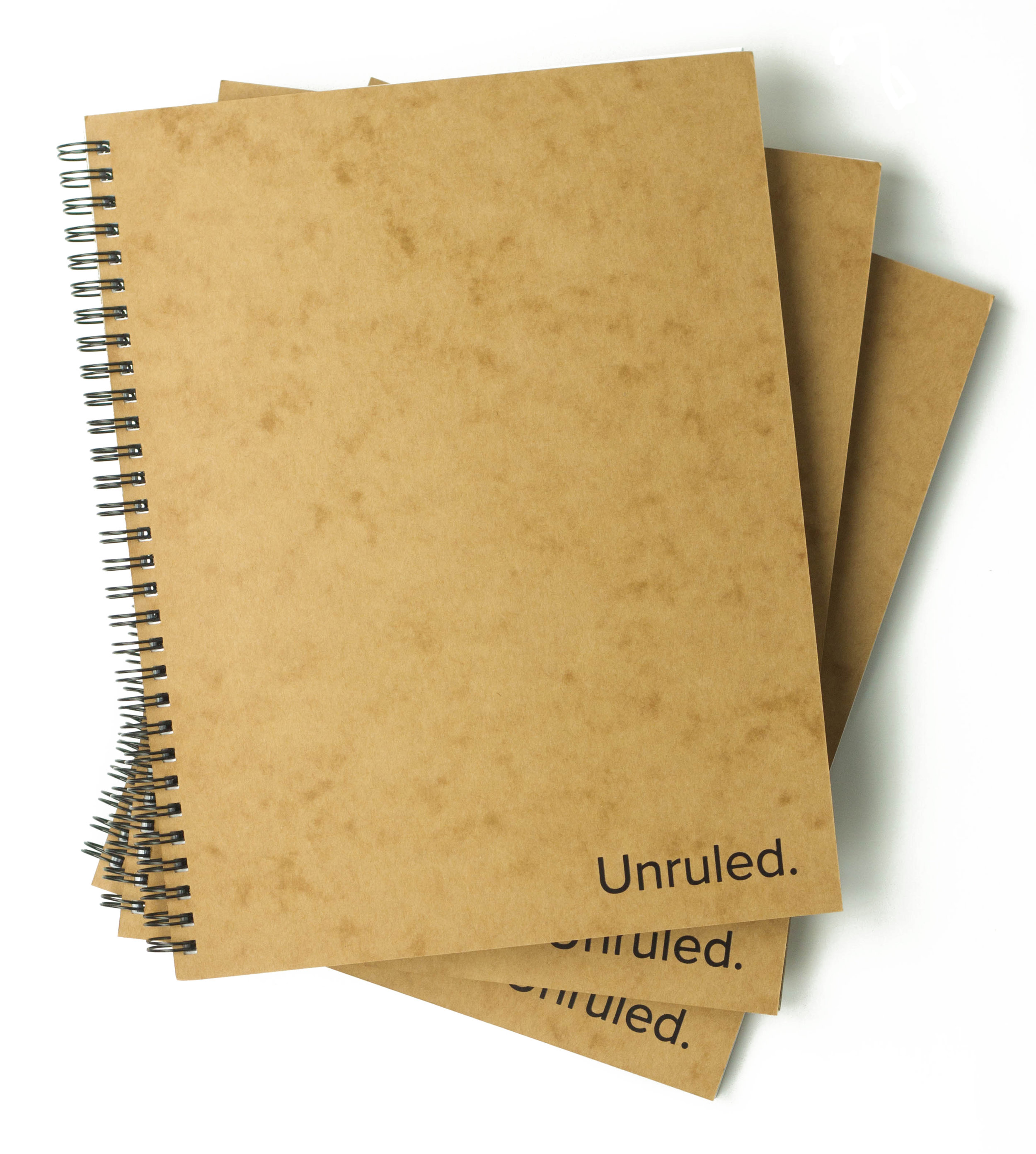 Ready to kickstart your creativity? Help yourself while helping the planet with the Unruled Notebook. -