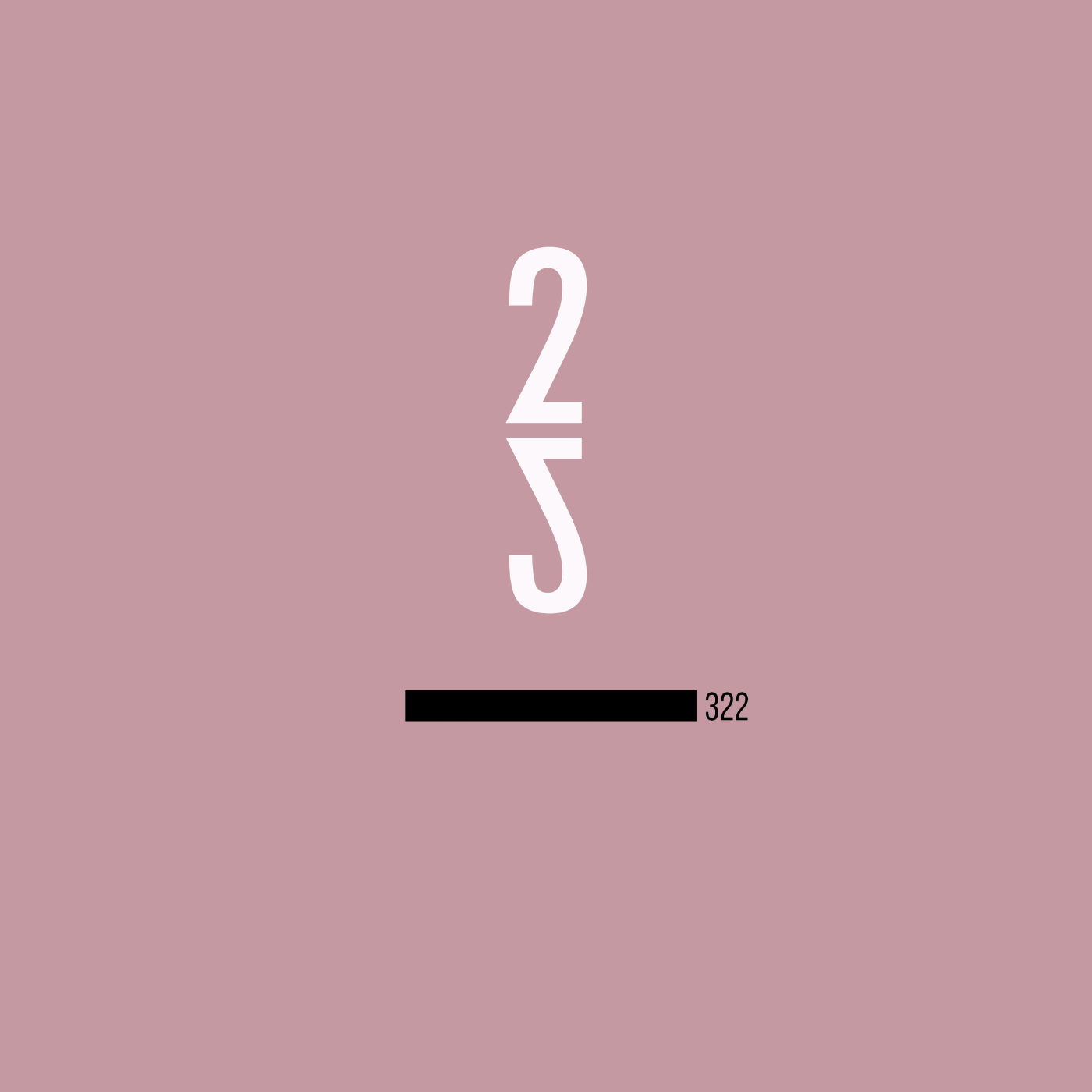 322 - Sophomore album release. November 23rd, 2018. Recorded at Studio Litho in Seattle, WA