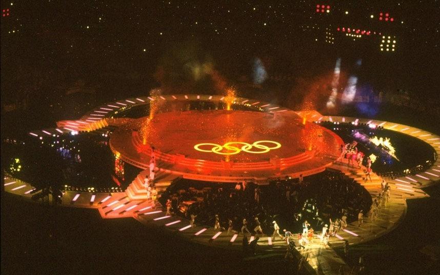 XXIII OLYMPIC GAMES -     Closing Ceremonies
