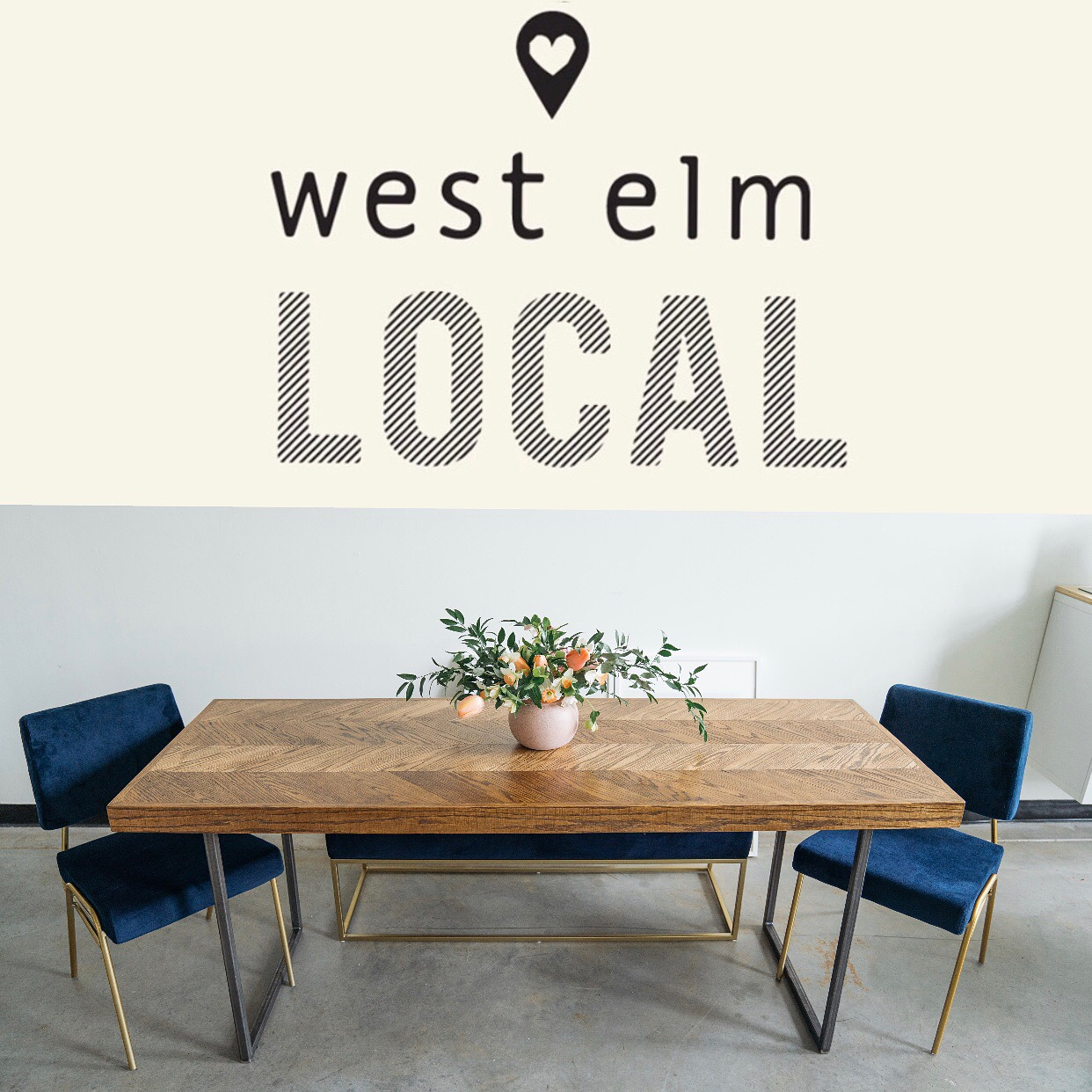 Local Maker for West Elm - Rosewood co tables are now available in West Elms all across the state of North Carolina!
