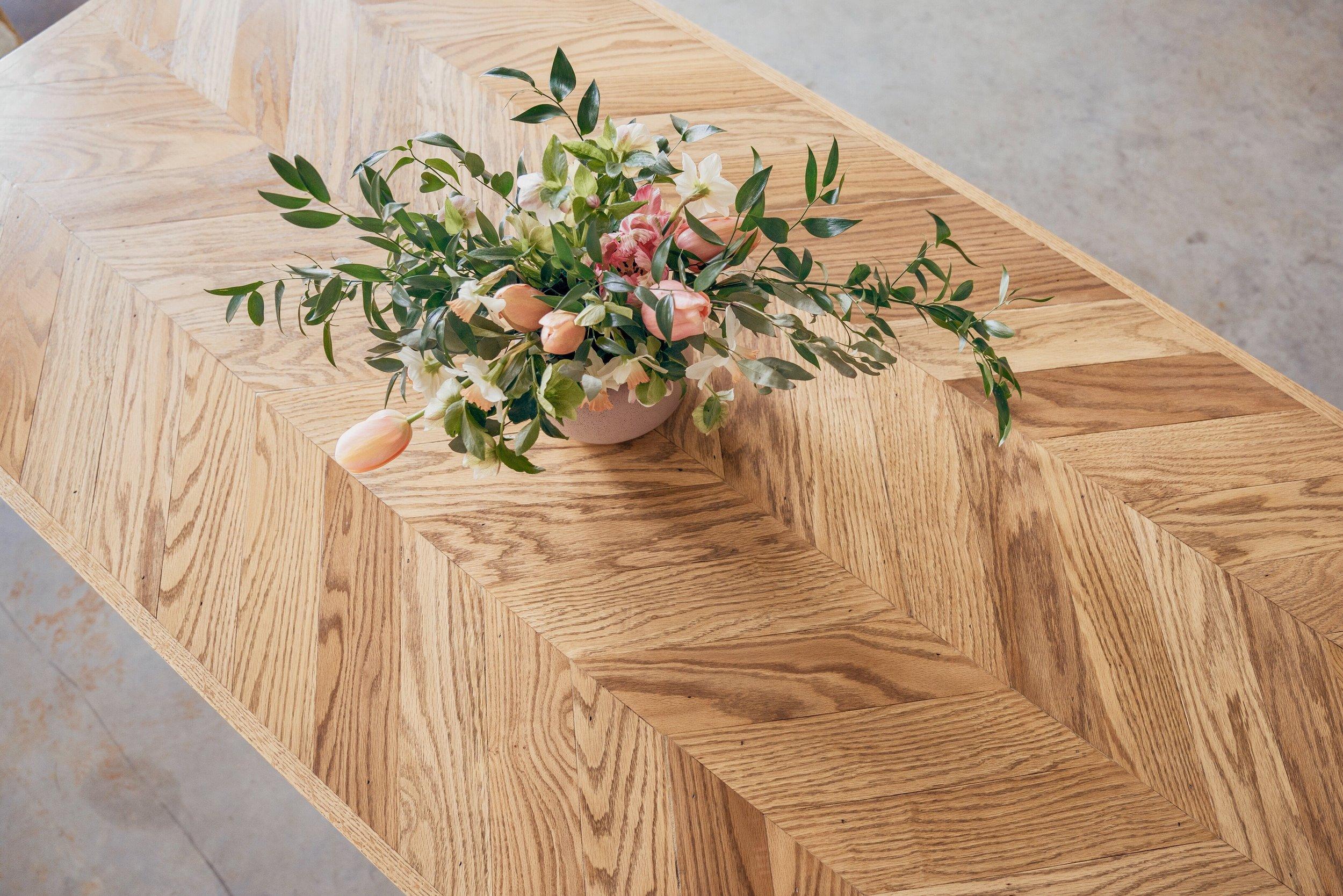 Herringbone Tables -