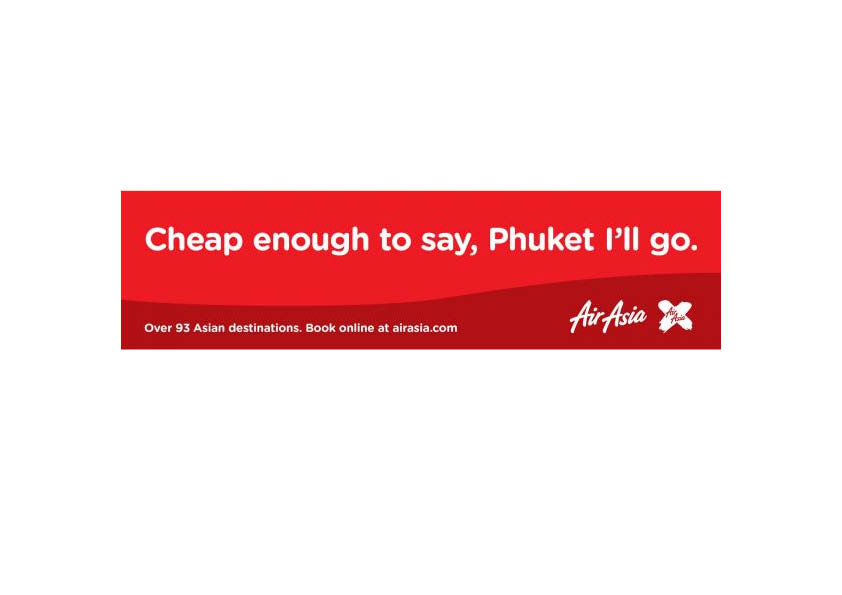 Client: AirAsia (a subsidiary of Virgin Airlines)