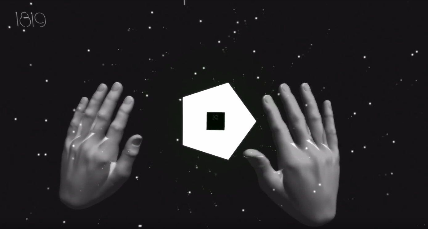 COSMOGON - An experiment with leap motion. Can you handle the COSMOGON?