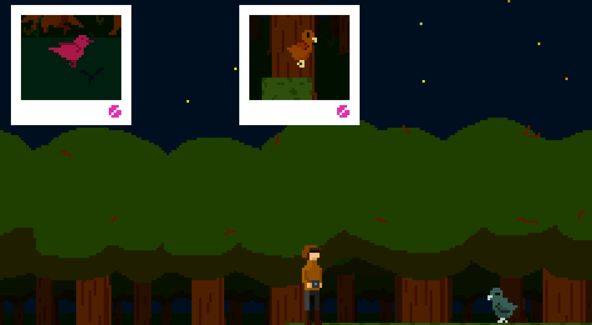BIRDWATCHING - A birdwatching 2D platformer made in one day - a warmup exercise before a game jam and yet a personal favourite of mine.